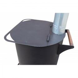 Печь для сжигания мусора 4 мм особопрочная