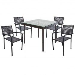 Комплект обеденный Orfey (4 стула, стол)