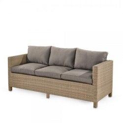 Плетеный диван S65B-W65 Light Brown