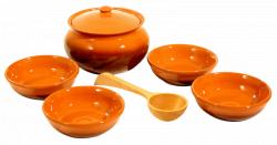 Набор посуды Для Каши Вятская Керамика НБР КАШ