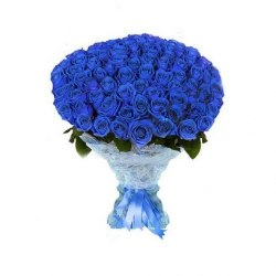 """Букет из 101 розы """"Зимняя сказка"""" Розовые розы"""