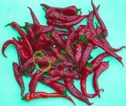 Семена острого перца Орлиный коготь красный - плоды когтевидные, длиной 7-8 см. Семенаград - семена почтой