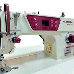 ПРЯМОСТРОЧНАЯ ПРОМЫШЛЕННАЯ ШВЕЙНАЯ МАШИНА Предназначена для шитья легких и средних материалов. AURORA A-1E (A-8600)