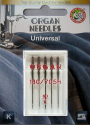 Набор стандартных игл ORGAN NEEDLES ORGAN REG №70-100