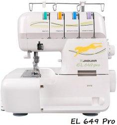 Оверлок Jaguar EL 649 Pro/ 087DW/ 644D/ T-74/ M-714D