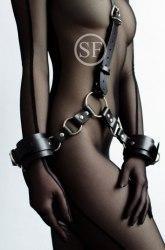"""Сбруя с фиксацией рук и шеи """"Slave"""" в203-6"""