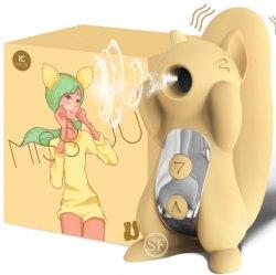 """Вибро-вакуумно-волновой стимулятор """"Squirrel"""" в606-3"""