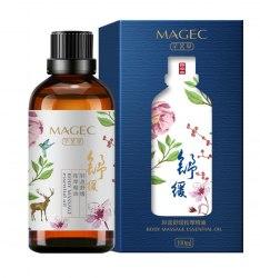 Массажная смесь масел с эфирным маслом Шалфея для интимного массажа (500 мл.) в112-5