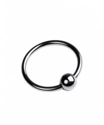 Стимулирующее кольцо на головку пениса с бусинкой