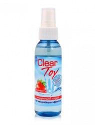 Очищающий спрей с ароматом клубники CLEAR TOY STRAWBERRY
