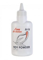 Ароматизированная пудра для игрушек Love Protection Манго
