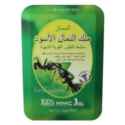 "Super Black Ant King ""Экстракт чёрного муравья"" (12 табл. по 9800 мг.)"