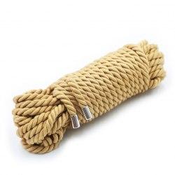 Веревка хлопковая мягкая для бондажа (10 м.)