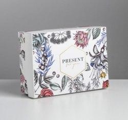 Коробка складная «Цветы»