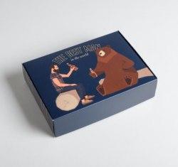 Коробка складная «Для настоящего мужчины»
