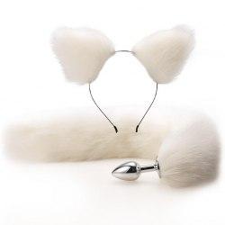 """Набор белый """"Ушки и хвосты"""""""