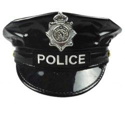 Фуражка полицейского из винила