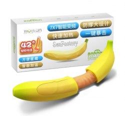 """Вибратор """"Dream Banana Double"""" б307-6"""
