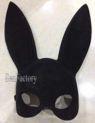Маска кролика Sexy Bunny Mask флокированная б210-4ф