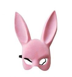 Маска кролика Sexy Bunny Mask флокированная в408-17р