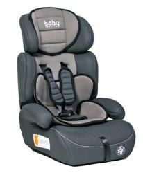 Автокресло детское Baby Prestige Zenith (Gey) группа 1/2/3 от 9 до 36 кг
