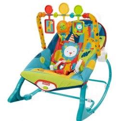 Шезлонг-кресло-качалка Fisher Price - Сафари