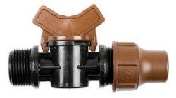 """Кран BF-valve lock 3/4"""" НР (компр)"""