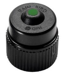 Самокомпенсирующийся баблер, 38 л/ч зеленый PCT-10