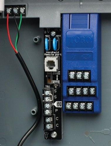 Модуль расширения на 4 станции TSM-4 (Для контроллеров TMC-424)