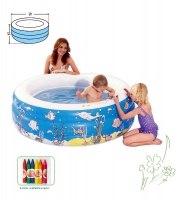 Бассейн надувной Doodle 3-ring pool