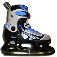 Хоккейные коньки FORA ZOOM BLUE
