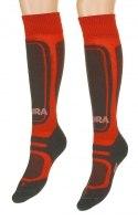 Носки Ski Kids Moira, красные