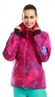 Куртка женская ALARICO Alpine Pro бордо