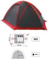Палатка Tramp Rock 3