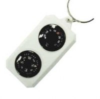 Компас-брелок Sol с термометром