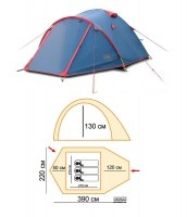 Палатка Sol Camp 3