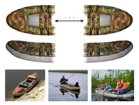 "Надувная лодка-байдарка ""Налим"""