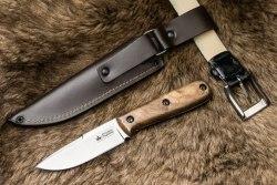 Нож Colada Kizlyar Supreme AUS-8 Satin Walnut