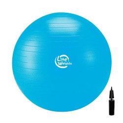Мяч гимнастический с насосом 75 см Lite Weights 1867LW