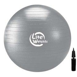 Мяч гимнастический с насосом 85 см Lite Weights 1868LW