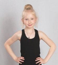 Майка для гимнастики хлопок Свиола 52-10175