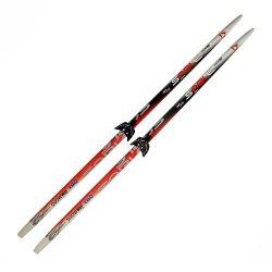 Лыжи с креплениями 75 мм