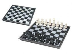 Шахматы+шашки 3810-В