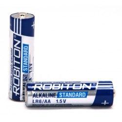 Элемент питания ( Батарейка ) Robiton 1.5V AA