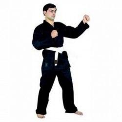 Кимоно для карате черное рост 190