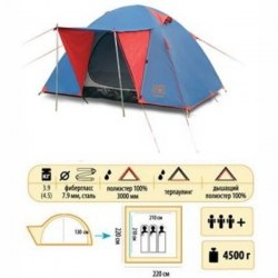 Палатка Sol WONDER 3