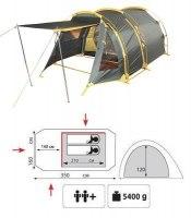 Туристическая палатка Tramp Octave 2