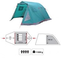 Палатка Tramp Baltic Wave 6