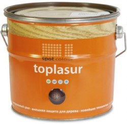 Топлазурь алкидная для древесины Toplasur Spot Colour