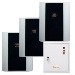 Трёхфазный стабилизатор напряжения Энергия Hybrid-24000/3 навесной модульный 3-ф нагрузка